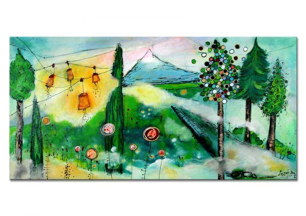 moderne Malerei Landschaft