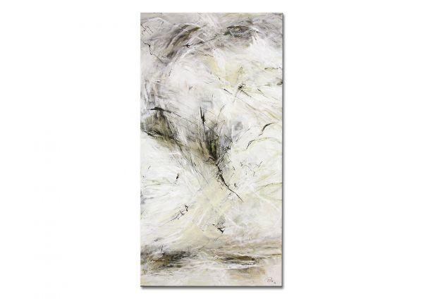 """Moderne abstrakte Kunst v. Manuela Pilz: """"Winterspaziergang"""""""