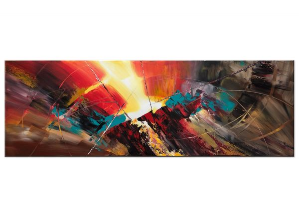 Versuchung abstrakte Acryl Gemälde Bilder modern Art