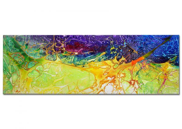 "Abstraktes Gemälde auf Leinwand ""Auf Osiris"""