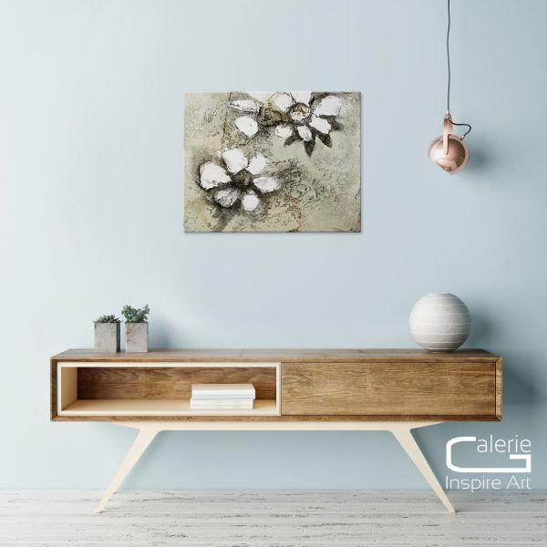 Malerei abstrakt Blumen