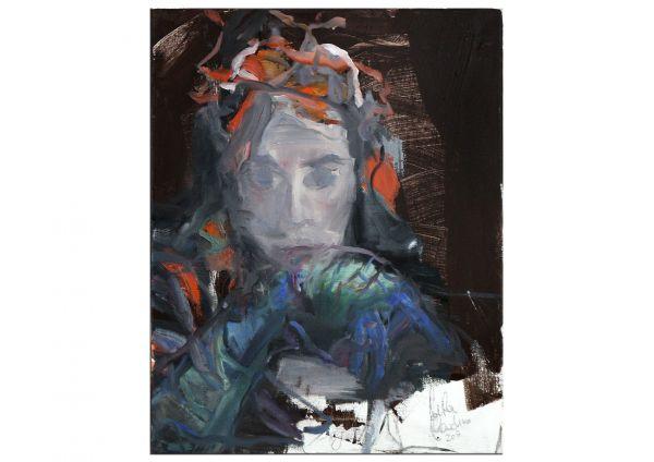 Portrait Oranger Hut, Mila Plaickner
