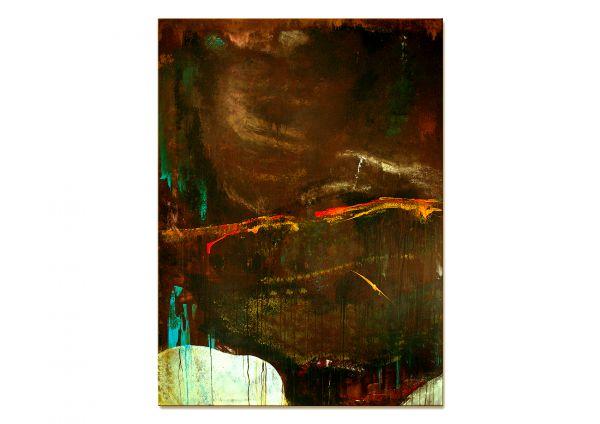 Rost Malerei gemalt rostfarbe