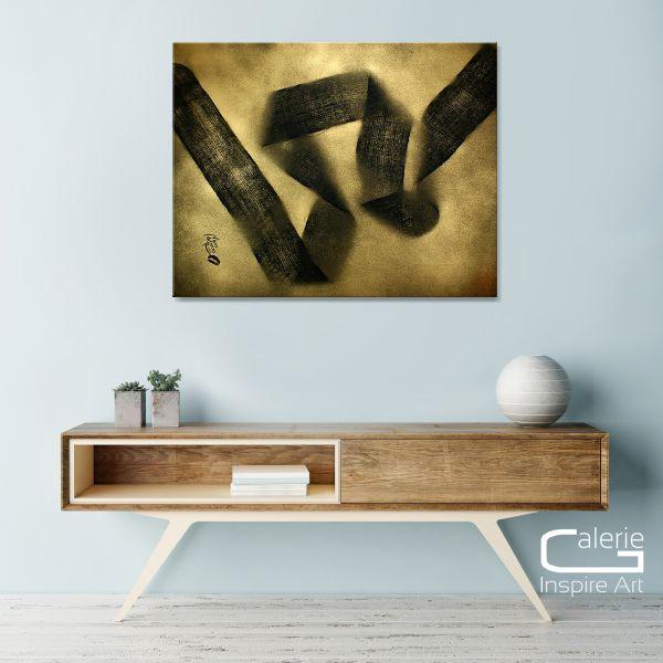 """""""Band der Ewigkeit"""" - modernes Kunstwerk - Wandbild in Acryl"""
