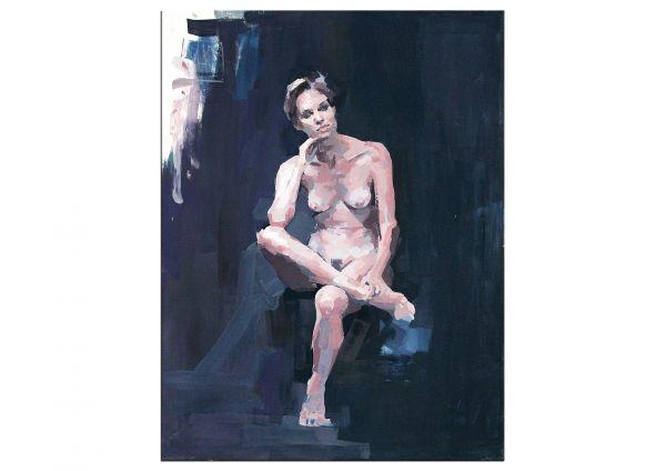 Frauenakt Gemälde Akt modern