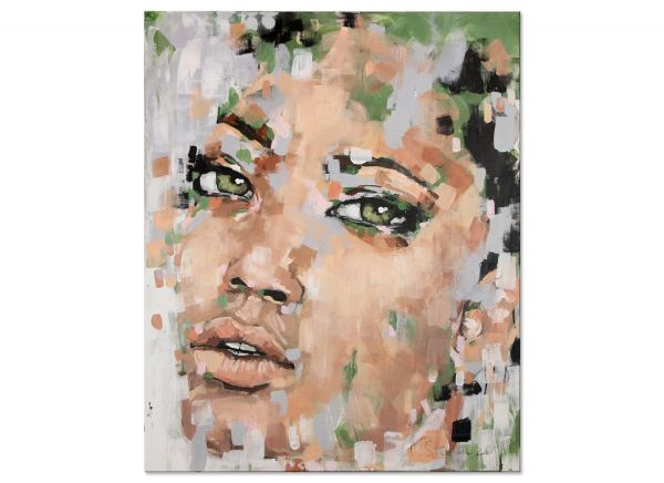 Sehnsüchtig Gemälde Portrait modern