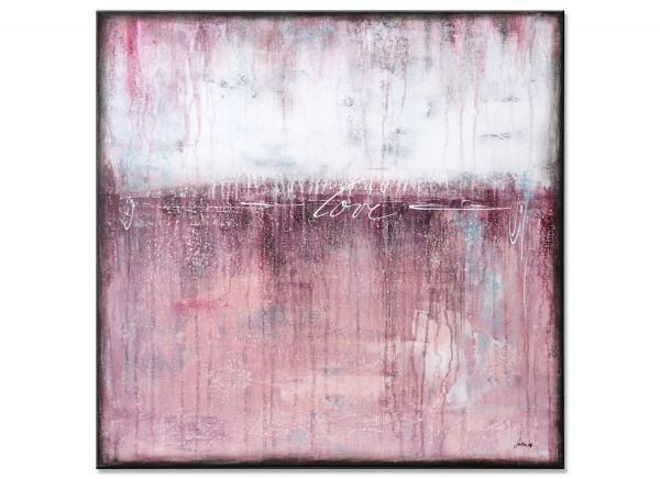 rosa bilder galerie gemälde farbfeldmalerei