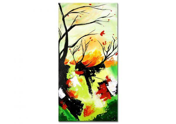 """Abstraktes Unikat Gemälde, Losaij: """"Kirschblüten"""""""