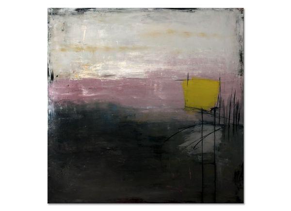 """""""Der Tag beginnt"""" abstract Art Klos Petra"""