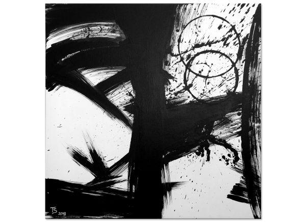 schwarz weiße Bilder abstrakte Wandbilder