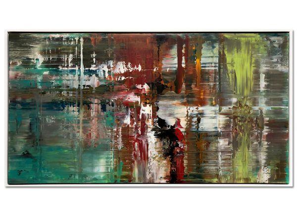 abstrakte Acryl Gemälde Bilder modern Art Lumaca