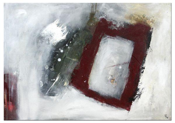 """Petra Klos: """"Lebenszeichen"""" - abstrakte Kunst Bilder"""