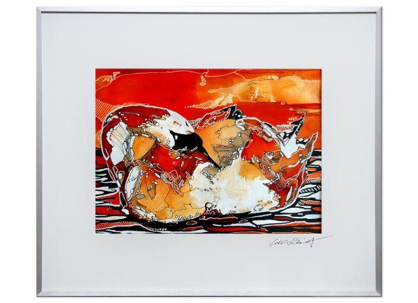 glasbilder-kunst-kleist-Sonnenbaden