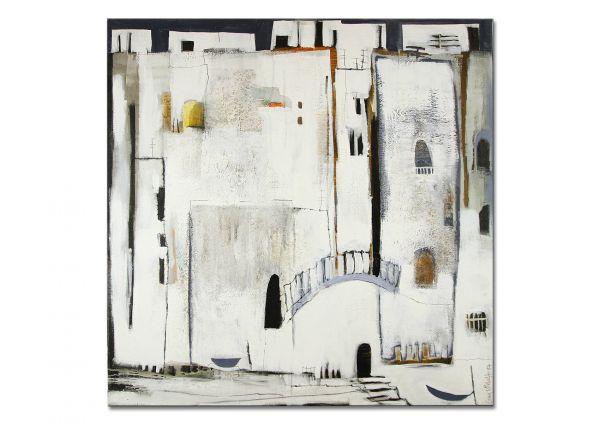 Malerei abstrakt Stadt