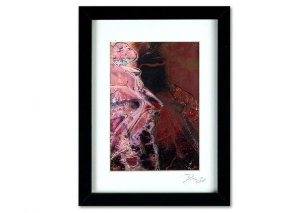 "Gemälde im Objektrahmen: ""Lichtblick II"", Acryl auf Leinwand hinter Glas"