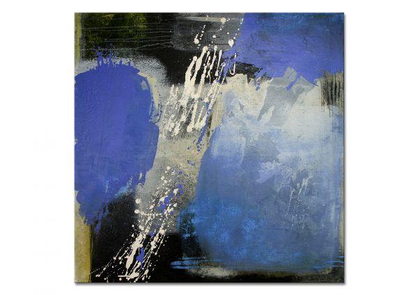 """Abstrakte Bilder, Manuela Pilz: """"Wolkenbruch"""""""