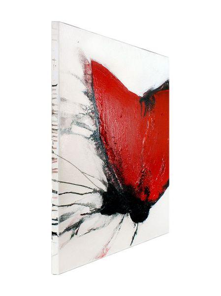 """Mohn III"" - abstrakte Gemälde - bildende Kunst"