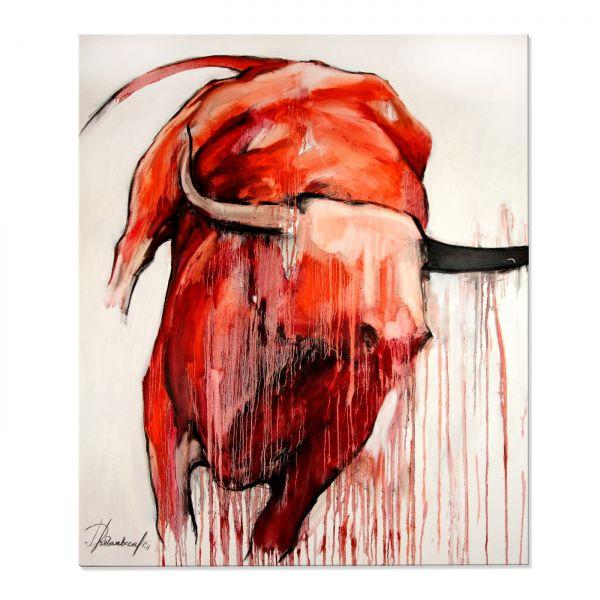 "Abstrakte Kunst kaufen, E.Drobychevskaja: ""Stier I"""