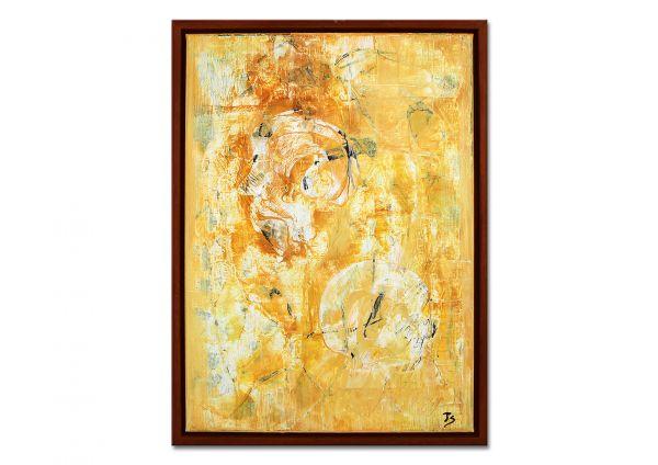 """Wandbilder abstrakt kaufen, Gemälde """"Zwiegespräch"""""""