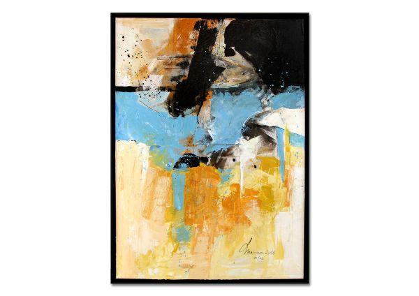 "Acrylgemälde abstrakt, Maiorescu: ""Inside my Love"""