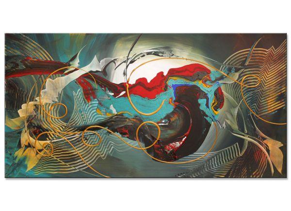 abstrakte Acrylbilder New modern Art Quantico