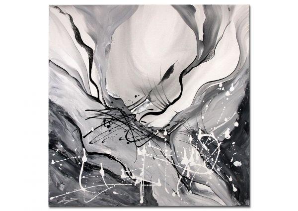 """Abstrakte Bilder auf Leinwand moderne, Etienne Donnay: """"Living Art II"""""""
