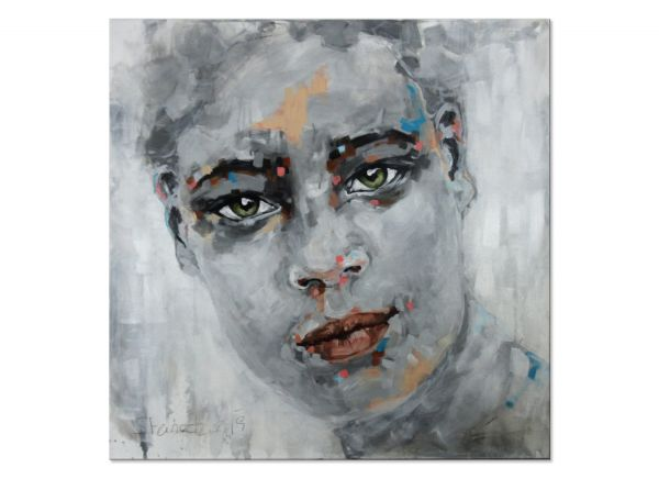 modernes Portrait Frau Gesicht