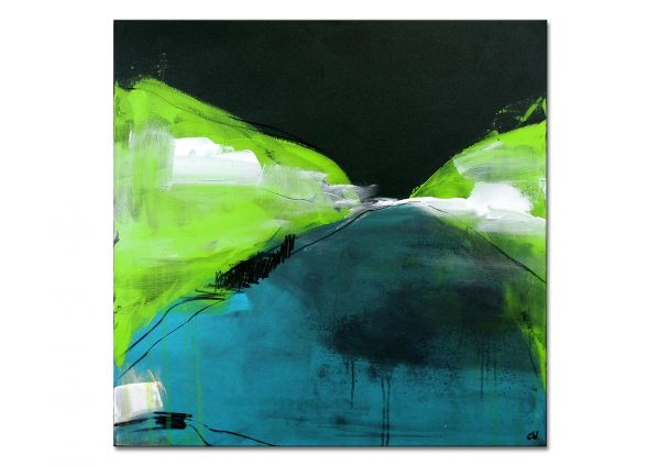 "Moderne Kunst, abstrakte Malerei, Conny Wachsmann: ""Irgendwann"""