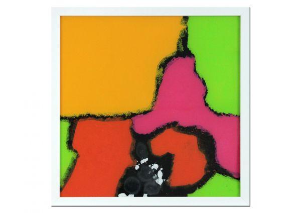 hinter Glas Malerei