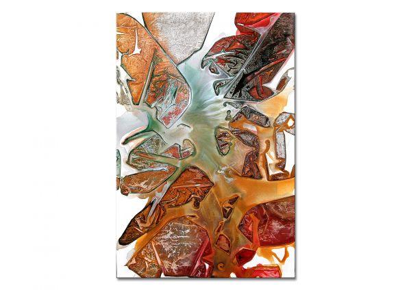 """""""Afterglow"""" Gemälde im Kleinformat, Modern Art"""
