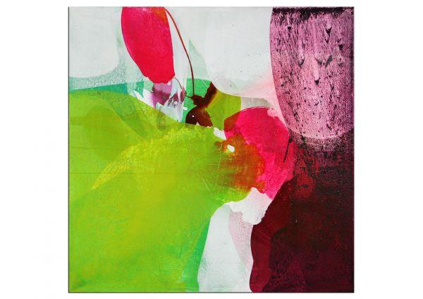 """Handgemaltes erfrischendes Acrylgemälde von E.Wittkowski: """"Weltengarten XXVIII (28)"""""""