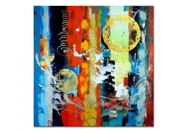 """""""Aufruhr"""" - abstraktes Wandbild - zeitgenössische Kunst"""