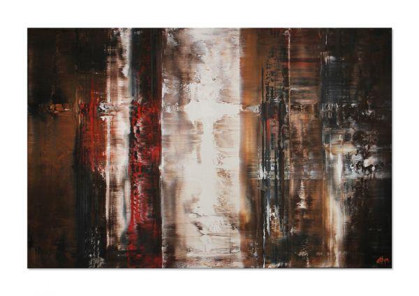Acrylmalerei auf Leinwand Galerie Echtheitszertifikat