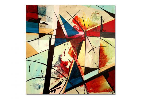 Kunst kubistisch