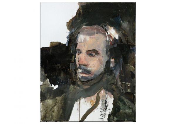 Portrait eines Mannes modern Plaickner Mila