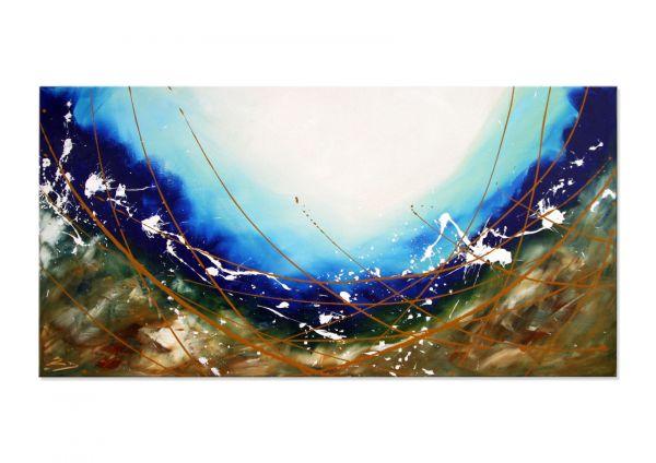 """Abstrakte Kunst auf Leinwand kaufen, Etienne Donnay: """"Homelands"""""""