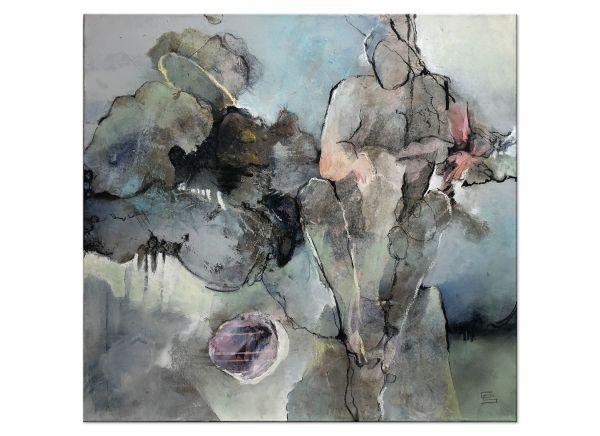 Gabriele Schmalfeld abstrakte Bilder figürlich Kunst
