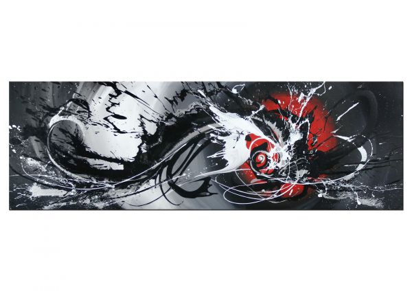 """""""Seelenliebe"""" expressionistisches Gemälde in Acryl"""