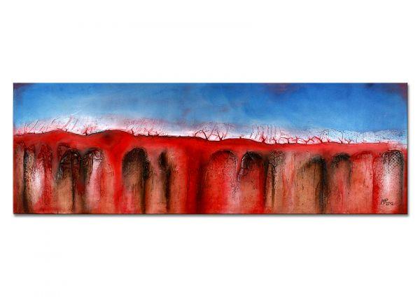 """""""GESTRANDET"""" - abstraktes Gemälde - Modern Art Painting"""