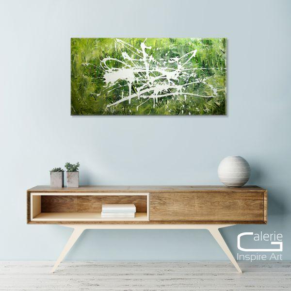 """Kunst Bilder kaufen: E.Donnay """"Eindrücke"""" abstraktes Acrylgemälde"""
