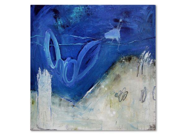 Unikat Gemälde abstrakt Unendlichkeit informelle Malerei