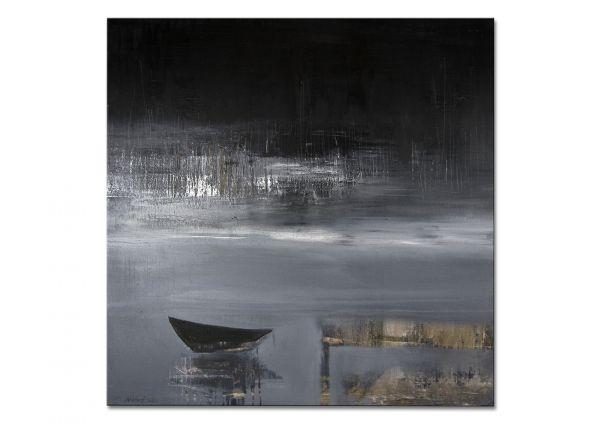 """Modernes Wandbild kaufen, Bilder abstrakt, by Niehoff: """"Nachtangeln"""""""