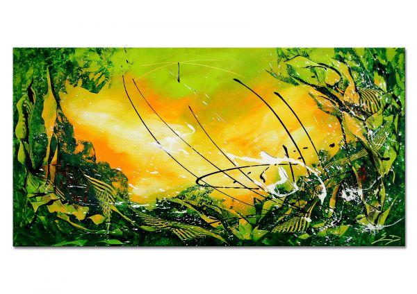 "Moderne Kunst online kaufen abstrakte Kunstbilder, Etienne Donnay: ""Rushing"""