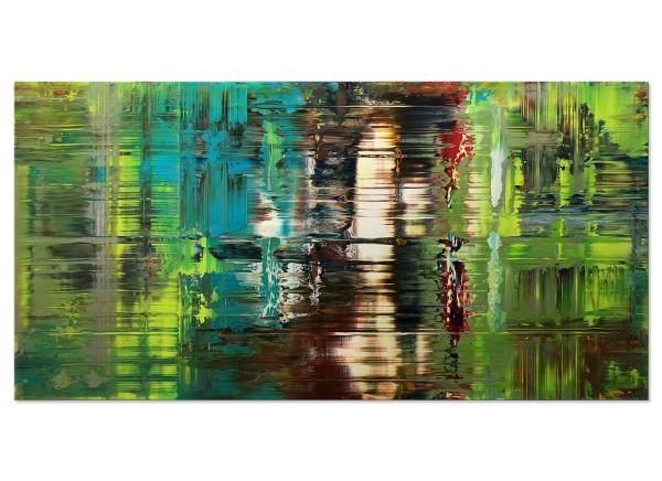 abstrakte Bilder grün