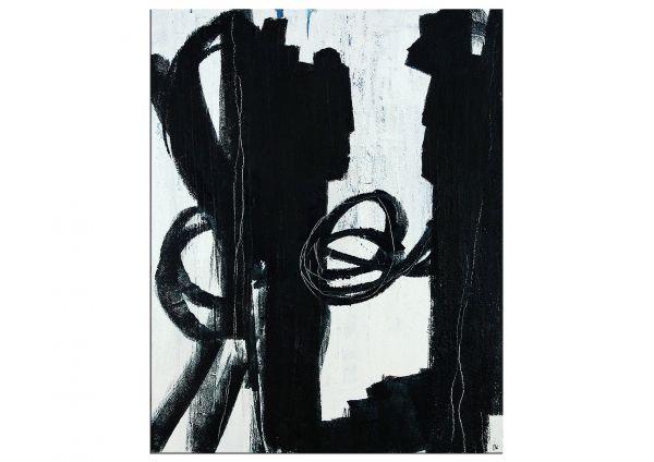"""Abstrakte Malerei, modern: """"Auf gleicher Augenhöhe"""""""