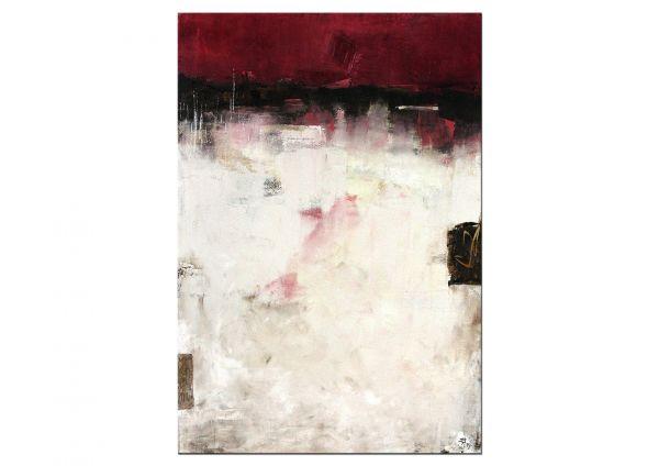 "Petra Klos: ""In Gedanken"" - abstraktes Gemälde in Acryl"