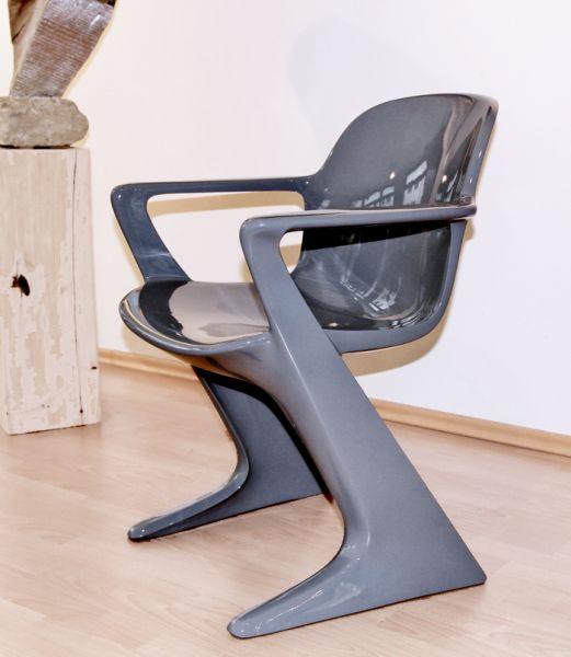 Design KLASSIKER Original VARIO-PUR Z-STUHL CHAIR grau