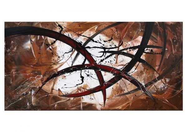 """Abstrakte Kunst kaufen: Dieu """"Struggle"""" moderne Bilder"""