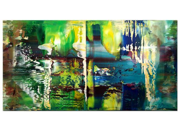 Traumland-gruenes-bild-kunst-abstrakt