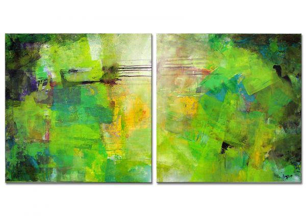 moderne Malerei Zweiteiler
